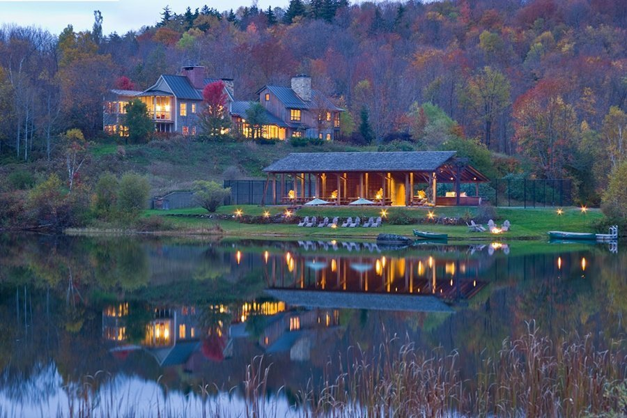 twin Farms Vermont luxury hotel